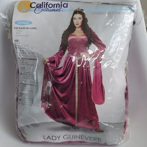 Lady Guinevere Halloween Costume - Medium